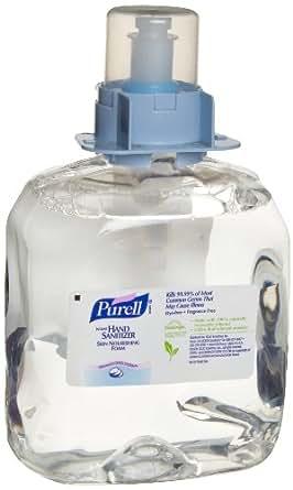 PURELL 5198-03 Advanced Skin Nourishing Instant Hand Sanitizer Foam, 1,200 mL FMX-12 Refill (Case of 3)