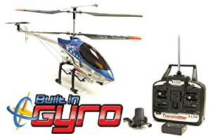 Blue Sky King 8501 3 Channel Gyro RC Radio Controlled Helicopter Plane by HCW