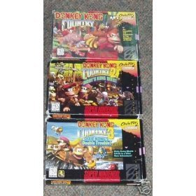 Donkey Kong Country 3-Game Bundle (Donkey Kong Country 1-3) Review