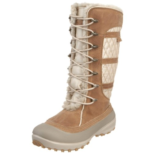 Columbia Women's Heather Canyon Omni-Heat Boots Beige Beige (Sesame/Mesquite 201) 40 2/3