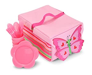 Melissa & Doug Bella Butterfly Picnic Set from Globalgifts