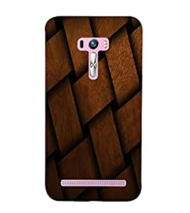 LEATHER PATTERN Designer Back Case Cover for Asus Zenfone Go::Asus Zenfone Go ZC500TG