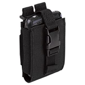 5.11 Tactical LARGE C5 Smartphone PDA Case MOLLE System iPhone Pouch Nylon Black by 5.11