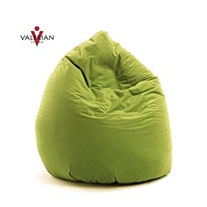 valerian sitzsack microfaser kiwi gr n 220 liter. Black Bedroom Furniture Sets. Home Design Ideas
