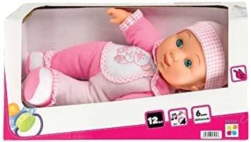 WDK PARTNER - A1300019 - Poupées et mini-poupées - Bébé dormeur 31 cm