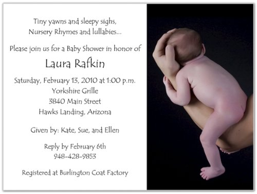 Baby Shower Invitation Images front-955578
