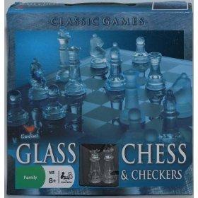 Cardinal - Glass Chess & Checkers