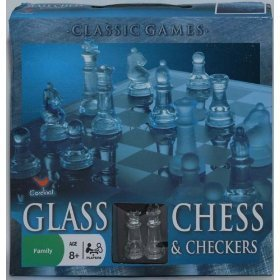 Cardinal - Glass Chess & Checkers