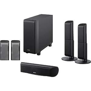 Sony SA-VS150H 5.1/7.1-Channel Speaker Package (Black)