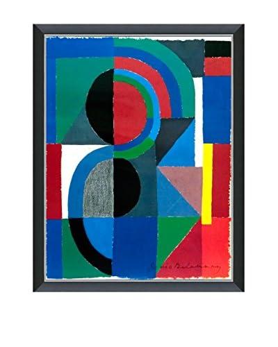 Art Source Sonia Delaunay Viertel 1986, Multi, 26.5 x 20.25