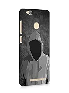 Cover Affair Hoodie Printed Back Cover Case for Xiaomi Redmi 3s