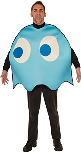 Men's Officially Licensed Pacman Inky Ghost Costume