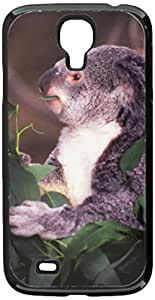 Graphics and More Koala Bear, Teddy Snap-On Hard Protective Case for Samsung Galaxy S4 - Non-Retail Packaging - Black