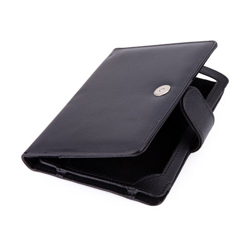 HDE® Black PU Leather Case Fits Kindle Touch