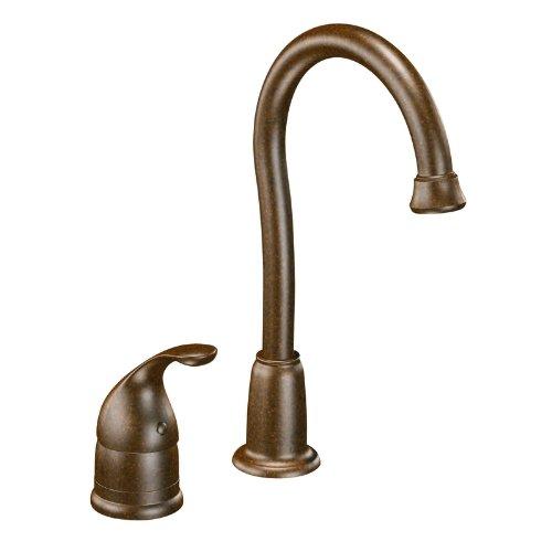 Moen 4905ORB Camerist One-Handle High Arc Bar Faucet, Oil Rubbed Bronze