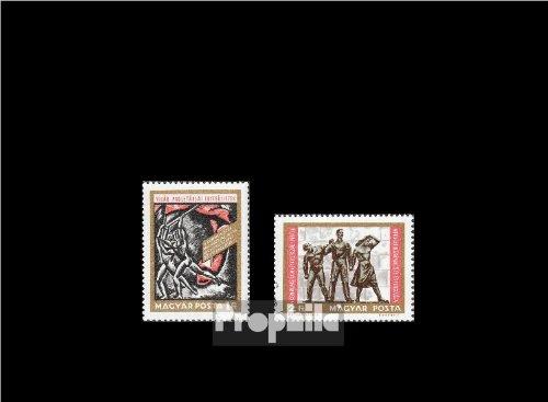Ungarn 2463A-2464A (kompl.Ausg.) gestempelt 1968 Kommunistische Partei Ungarns (Briefmarken für Sammler)