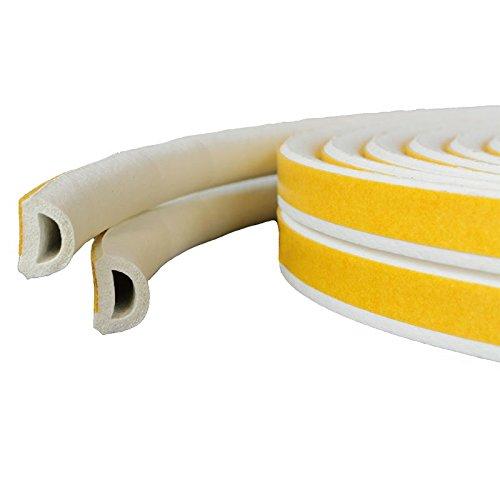 geko d profildichtung 100m 9 x 6 mm fenster t r gummidichtung selbstklebend spar baumarkt. Black Bedroom Furniture Sets. Home Design Ideas