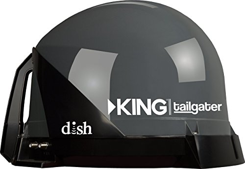 KING VQ4500 Tailgater Portable/Roof Mountable Satellite TV Antenna (for use with DISH) (Direct Tv Satelite For Rv compare prices)