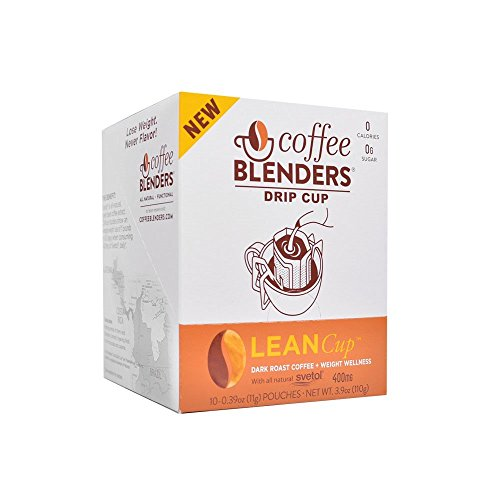 Coffee Blenders Lean Drip Cup 10 Count With All Natural Green Coffee Bean Extract To Support Weight Loss (Extract Blender compare prices)