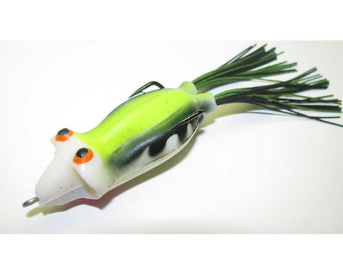 Snag Proof Ish's Poppin' Phattie Frog Lure, Sticky Green