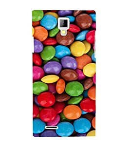 EPICCASE Colorful gems Mobile Back Case Cover For Micromax Canvas Xpress A99 (Designer Case)