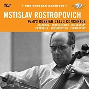 Rostropovich Plays Russian Music from Brilliant Classics