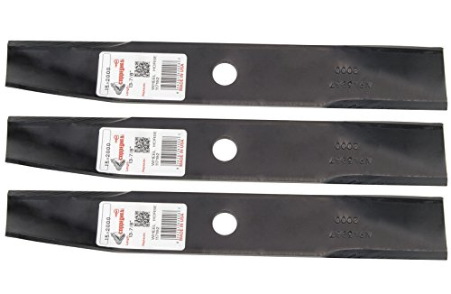 """3 Rotary® Lawn Mower Blades Fit Toro® Wheel Horse 106077 117192 106636 50-1535 42"""" Side Discharge 36"""" Rear Discharge"""
