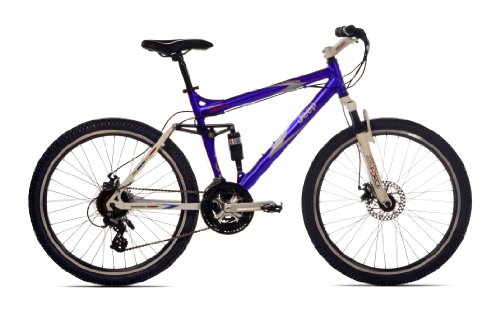 Jeep Cherokee Men's Dual-Suspension Mountain Bike (26-Inch Wheels, 19-Inch Frame)