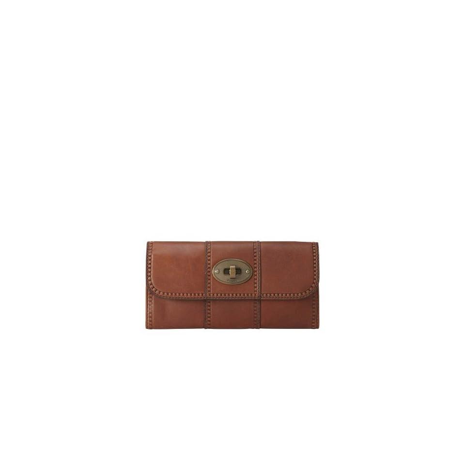 Vintage Revival Flap Clutch Color BROWN Wallet