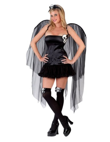Adult Skull Fairy Sm-Md Adult Womens Costume