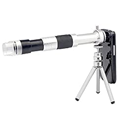 Mobilegear 16x Telescope Zoom Mobile Camera Lens With 60 to 220x Microscope with Tripod For iPhone 5 & 6