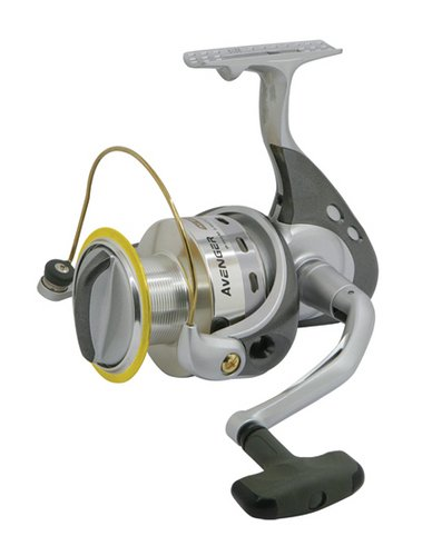 Okuma Avenger Spinning reel clam pack, Silver, Small