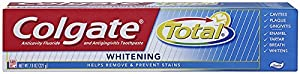 Colgate Total Whitening Toothpaste, 7.8oz