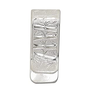 Sterling Silver Hawaiian Bamboo Money Clip