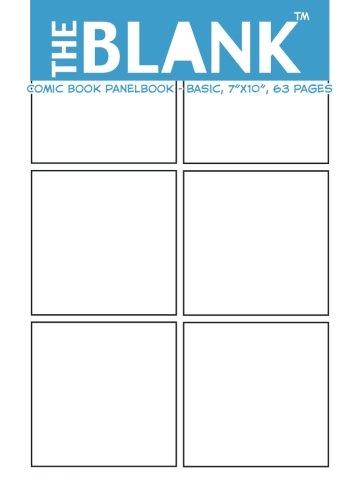 The Blank Comic Book Panelbook - Basic, 7