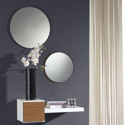 Flurmöbel Set Concept Farbe: Weiß / Nussbaum