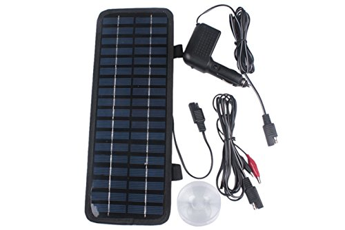 Fashion Outlet Fashion Outlet 12V Solar Panel Battery Charger For Car/Rv Car Portable Battery Charger 3.5W