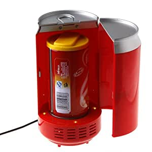 Red Color Gadgets Mini USB PC Fridge Beverage Drink