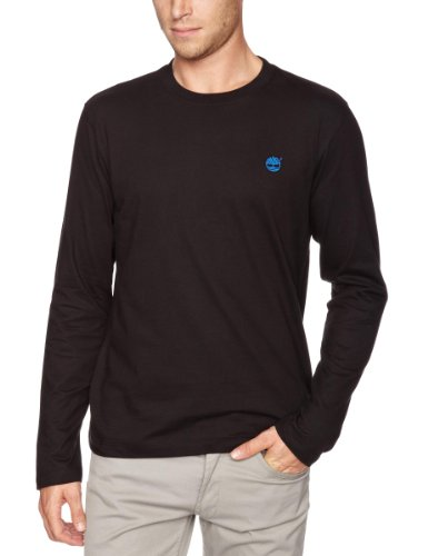 Timberland Long Sleeve Back Logo Logo Men's T-Shirt