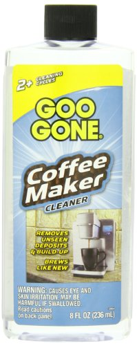 Goo Gone Coffee Maker Cleaner, 8 Ounce front-30100