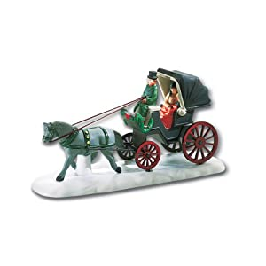 #!Cheap Department 56 Christmas In The City Central Park Carriage