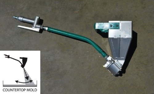 Downward Stucco & GFRC Sprayer for Concrete Countertops | Made in the USA | One Year Warranty