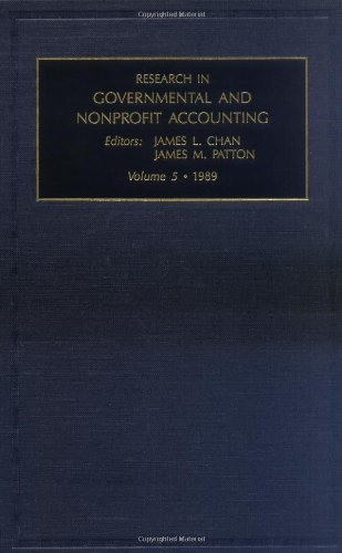 Research in Governmental and Nonprofit Accounting