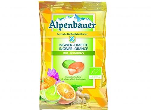 Bio-Alpenbauer-Ingwer-Limette-Ingwer-Orange-Bonbons
