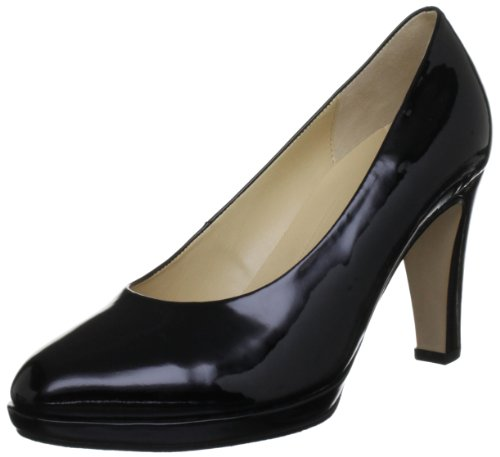 Gabor Women's Splendid Patent Black Platforms Heels 65.270.97 3 UK