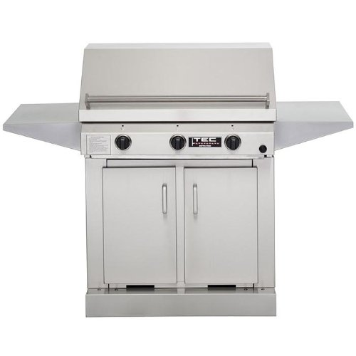 Tec Sterling Iii Fr Infrared Natural Gas Grill On Cabinet