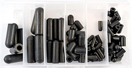 Rubber Vacuum Cap Assortment (90 Pcs / 6 Sizes) (Rubber Caps compare prices)