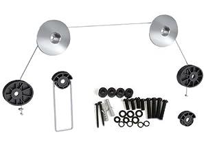 "HD Zone's Ultra Slim Thin Flat LED Hdtv Fashion Tv Wall Mount Bracket for 13""-70"" LED Tv Vesa 100x100 200x200 400x400 600x600 800x800 compliant - Adjustable Cable Length"