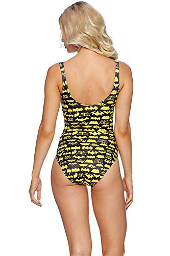 Lady Queen Women's Batman One-piece Swimsuit Bikini Top Cover
