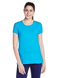 Jockey Round Neck T Shirt (1515-0105-HAWOC_Turquoise_X-Large)